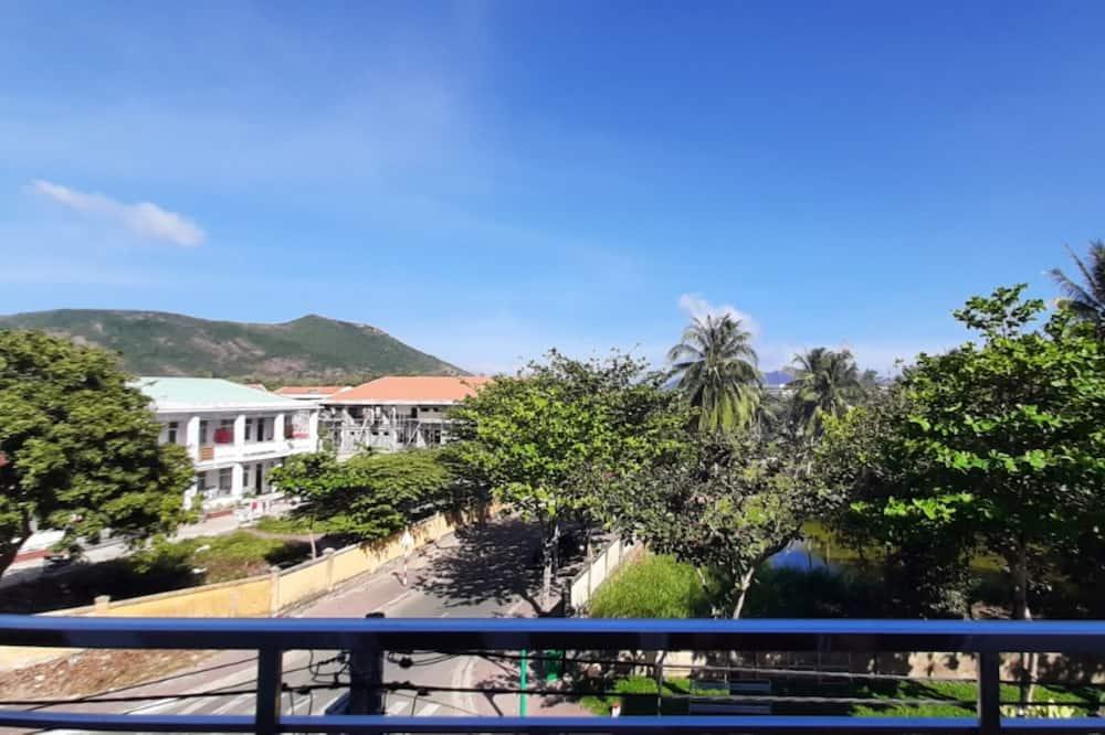 Panoramska trokrevetna soba - Pogled s balkona