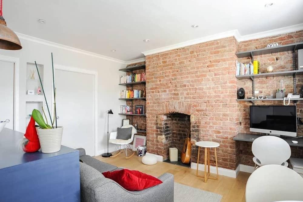 Eenvoudig appartement, 1 tweepersoonsbed - Woonkamer