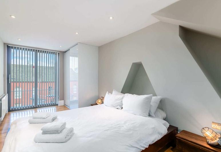 ゲストリーディ - モダン 2 ベッドルーム ホーム イン トレンディ ダルストン ウW / バルコニー, ロンドン