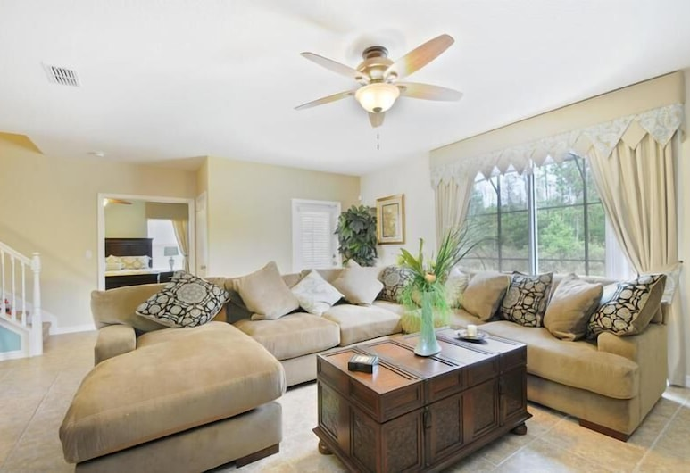 Florida Elegance Disney Vacation Rental 6 Bedroom Home, Kissimmee, Ev, 6 Yatak Odası, Oturma Odası