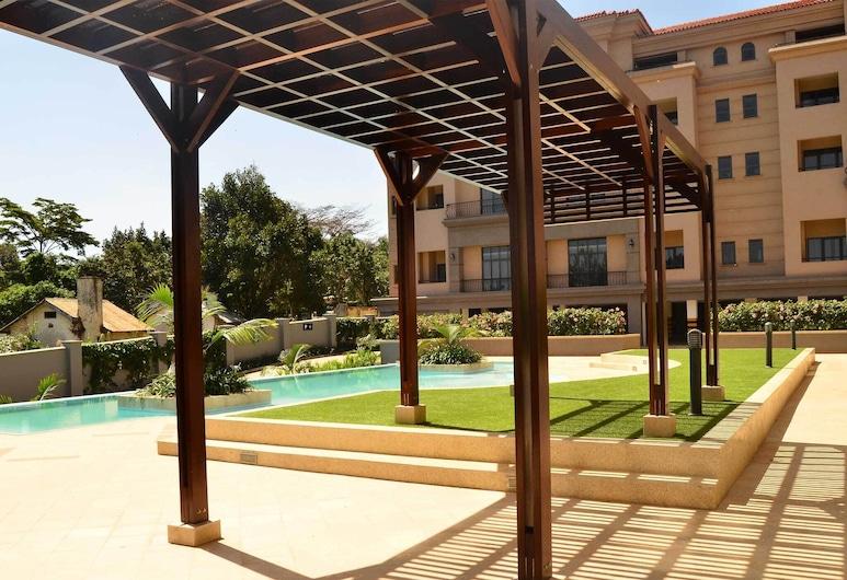 モダン ソフィスティケーテッド アンド ラグジュリアス アパートメント, Entebbe, 外装