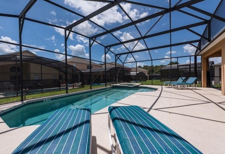 This Is A Superb 4 Bed 3.5 Bath Vacation Home 4 Bedroom Villa, Kissimmee, Villa, 4 Bedrooms