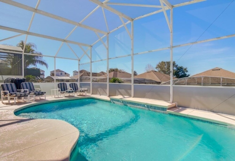 Affordable Gem Private Pool 8 Miles To Disney! 4 Bedroom Home, Davenport, House, 4 Bedrooms
