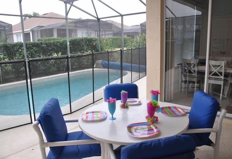 Mickey's - Windsor Palms 4 Bedroom Home, Kissimmee, Casa, 4 Quartos, Varanda