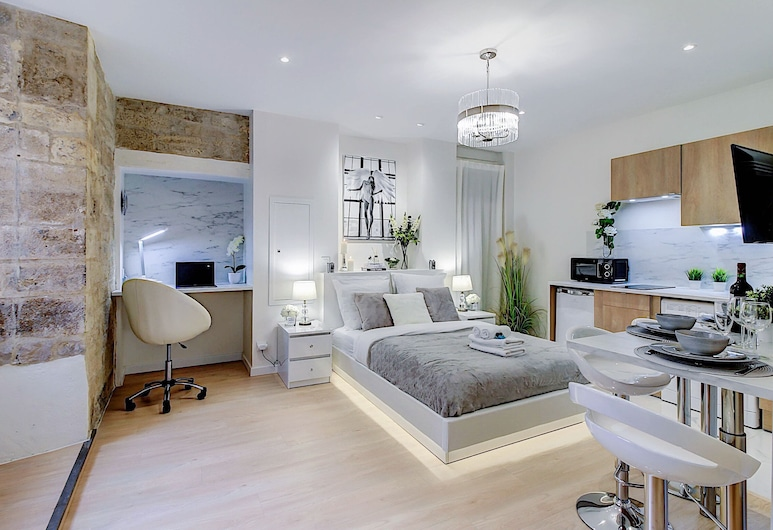 Appartement la Maria, 第戎, 开放式客房, 起居区