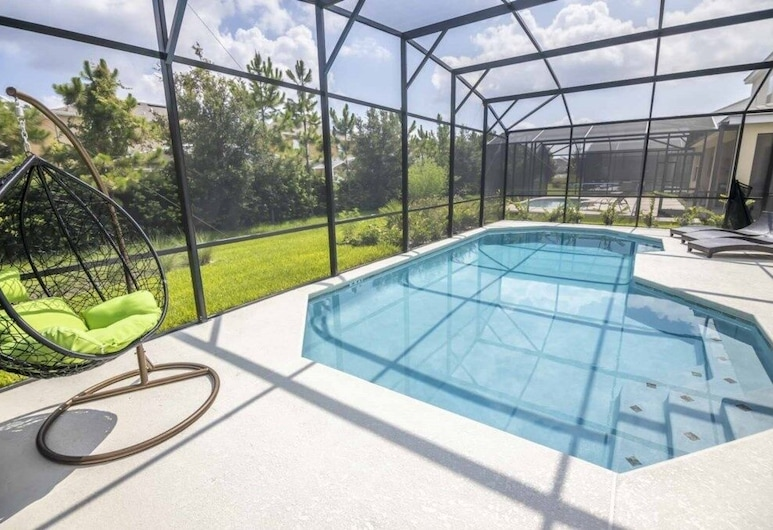 Exquisite Bella Vida Resort Pool 6 Bedroom Home, 基西米, 游泳池
