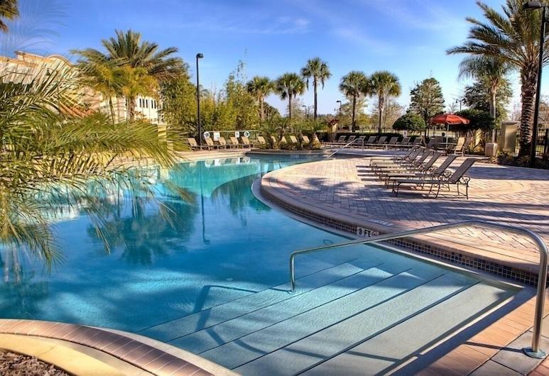New Listing! 3 Bed 3.5 Bath Vacation Townhome 4007 3 Bedroom Townhouse, Orlando, Pientalo, 3 makuuhuonetta, Uima-allas