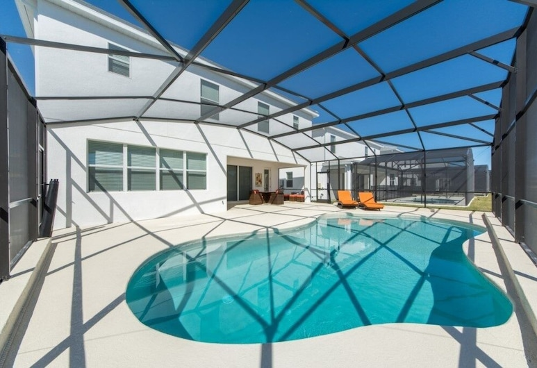 Brand New Resort Private Pool, Game Room! 6 Bedroom Home, Kissimmee, Pool