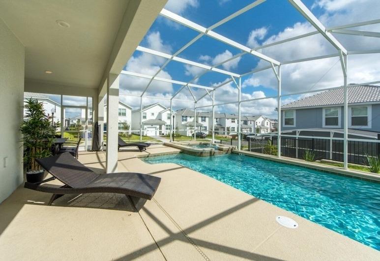 Champions Gate Luxury ! 6 Bedroom Home, Davenport, Hus, 6 soverom, Svømmebasseng