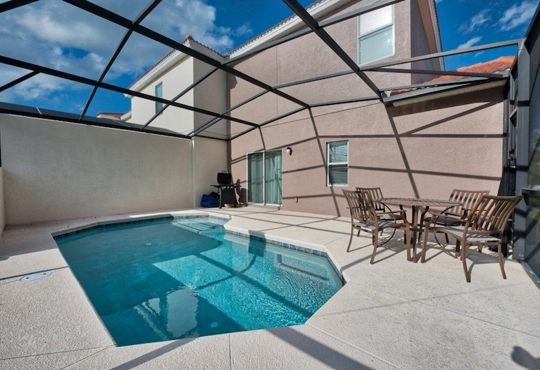 Close To Disney 4 Bed Town With Private Pool! 4 Bedroom Townhouse, Kissimmee, Stadtwohnung, 4Schlafzimmer, Zimmer