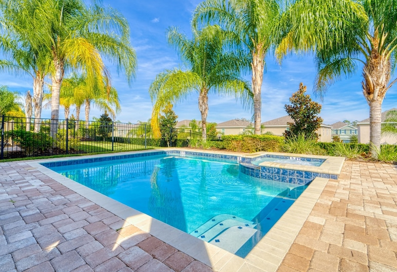 7564ma - Peaceful Place 5 Bedroom Home, Kissimmee, Maja, 5 magamistoaga, Bassein