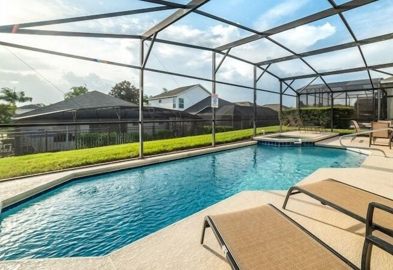 Beautiful Windsor Palms 4 Bed With Pool/ Spa 4 Bedroom Villa, Kissimmee