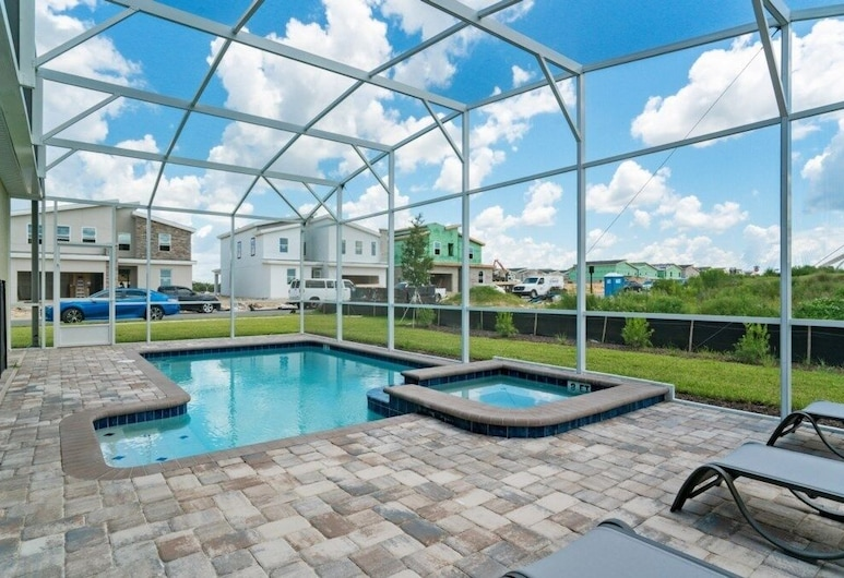Glamorous 6-bed With Private Pool/spa 6 Bedroom Home, Kissimmee, Hús - 6 svefnherbergi