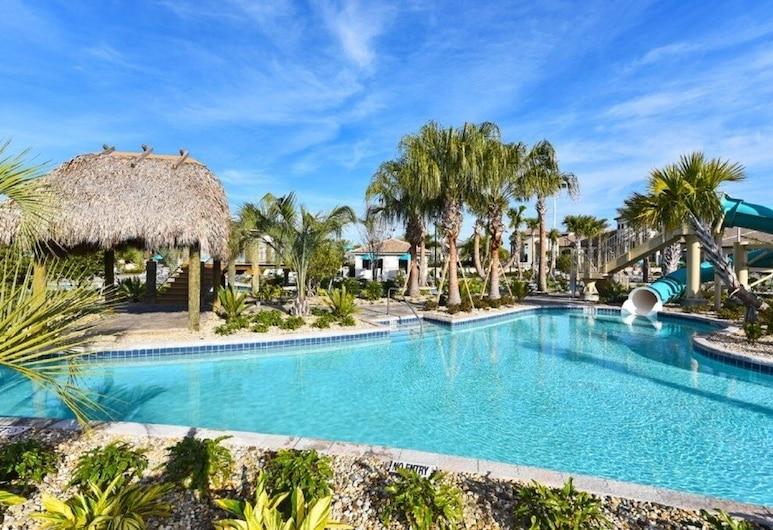 Huge 8-bed Champions Gate Resort -1433rfd 8 Bedroom Home, Davenport, House, Multiple Bedrooms, Pool