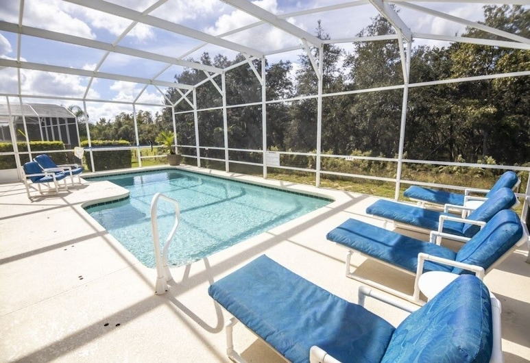 Peaceful Highlands Reserve Pool 4 Bedroom Home, Davenport, House, 4 Bedrooms, Pool