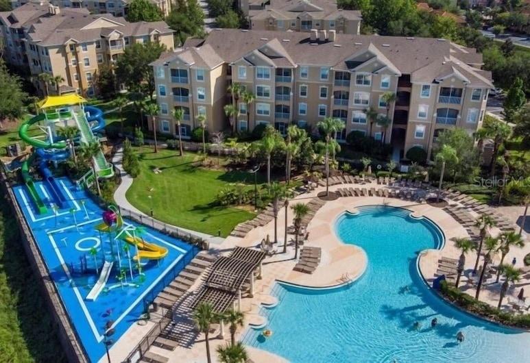 Peaceful Windsor Hills Resort 5 Bedroom Home, Киссимми, Коттедж, 5 спален, Бассейн
