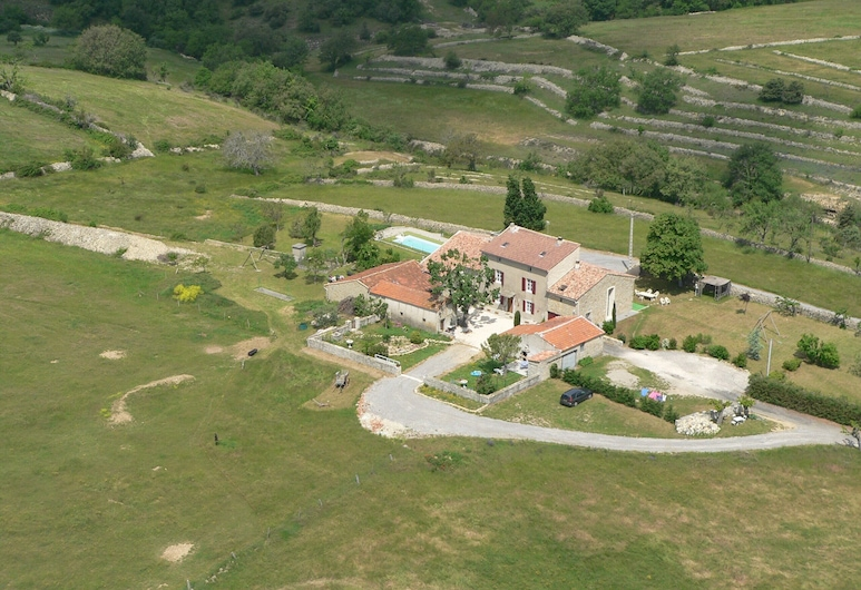 Le Mas de la Chadenière, Villeneuve-de-Berg, Uitzicht vanaf hotel