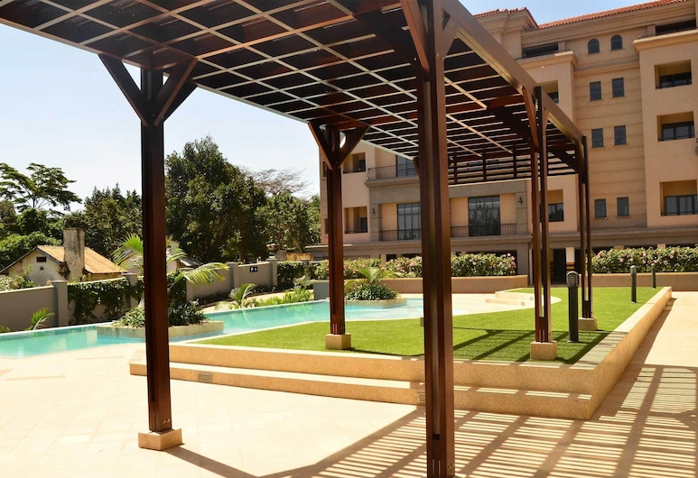 A Modern Sophisticated and Luxurious Apartment, Entebbe, אזור חיצוני