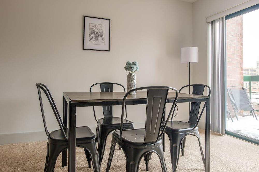 Servicio de comidas en la habitación