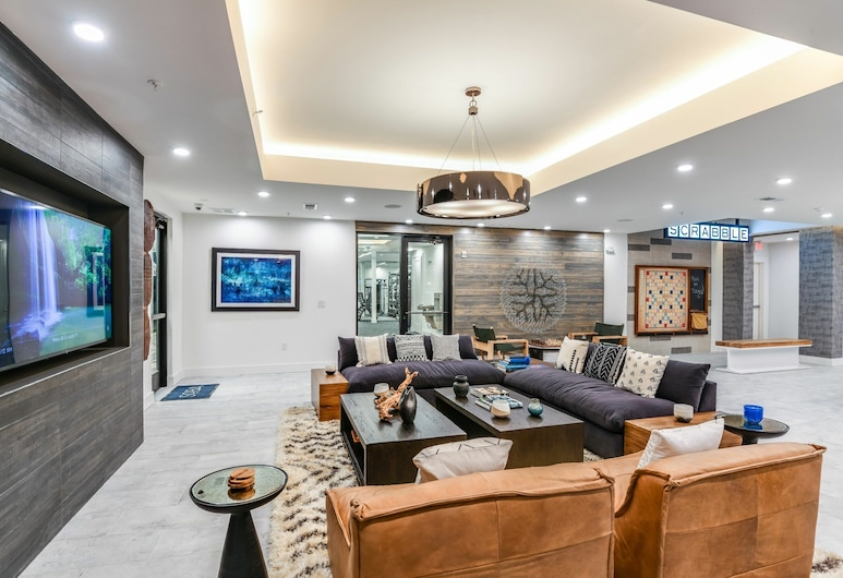 Chic Southbank Apartments by Frontdesk, Jacksonville, Lounge
