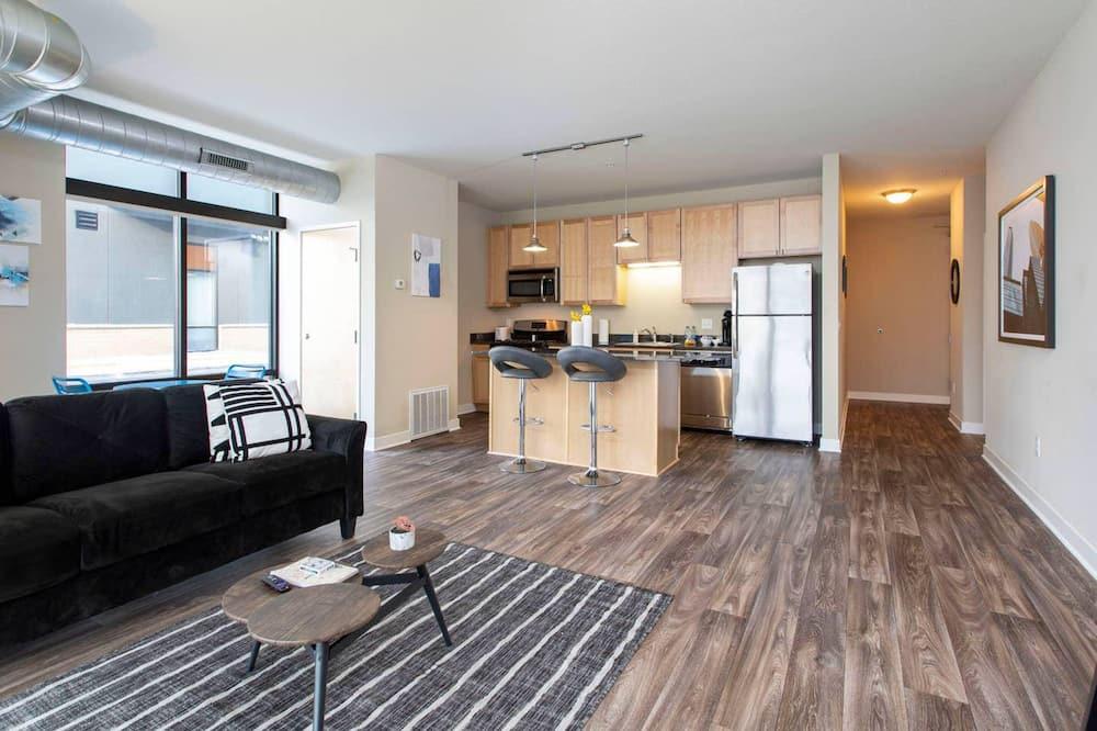 Comfort-Apartment, 1 Schlafzimmer, Küche - Wohnbereich