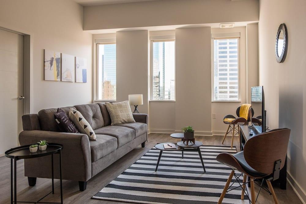 Apartment, 2Schlafzimmer, 2 Bäder - Wohnbereich