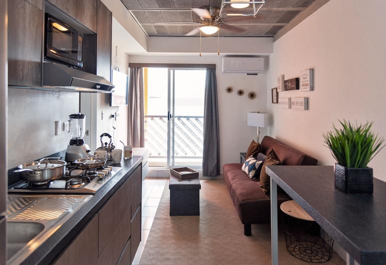 Departamento Centro, 2hab, 1 sofácama, 2 baños by Mty. Living T402, Monterrey, Departamento, 2 habitaciones, Sala de estar