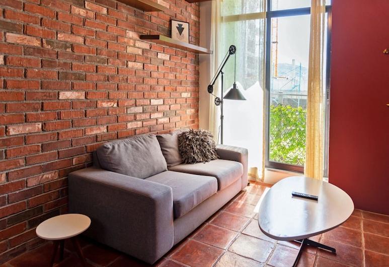 Nuevo, moderno. Centro Monterrey  4SB, 1 baño by Mty. Living S1 704, Monterrey, Lejlighed - 2 soveværelser, Opholdsområde