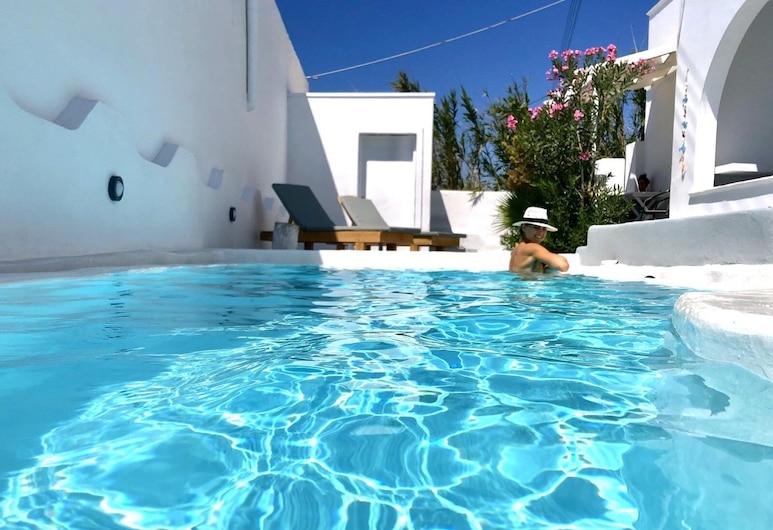 Rings Hotel, Santorini, Ulkouima-allas