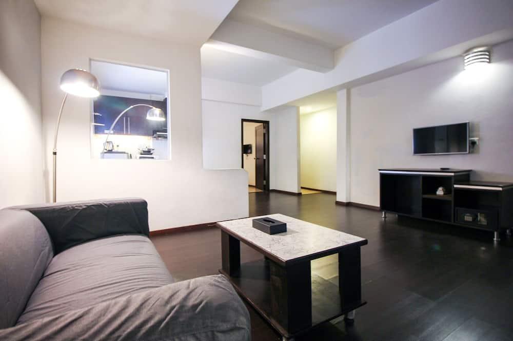 Apartment, 4 Bedrooms - Ruang Tamu