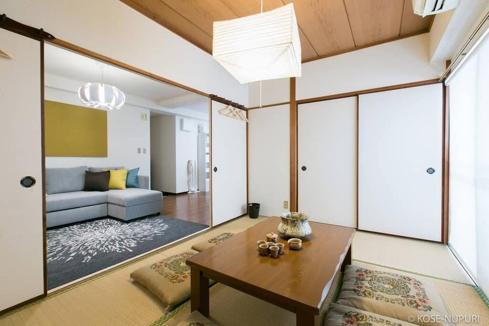 דירה, 2 חדרי שינה (302) - אזור מגורים