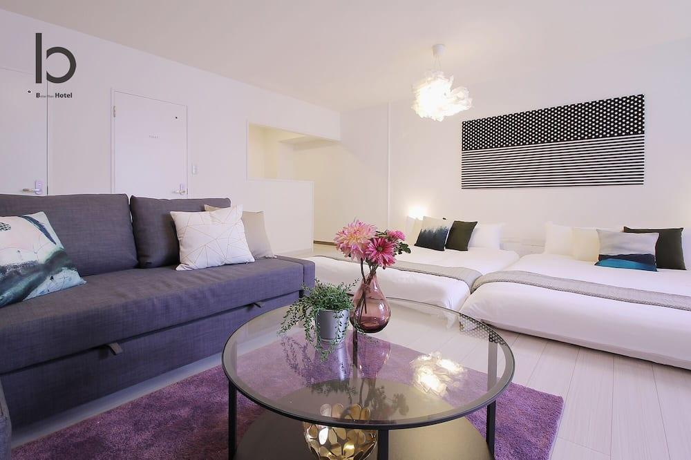 Διαμέρισμα (Condo), 1 Υπνοδωμάτιο (102) - Περιοχή καθιστικού