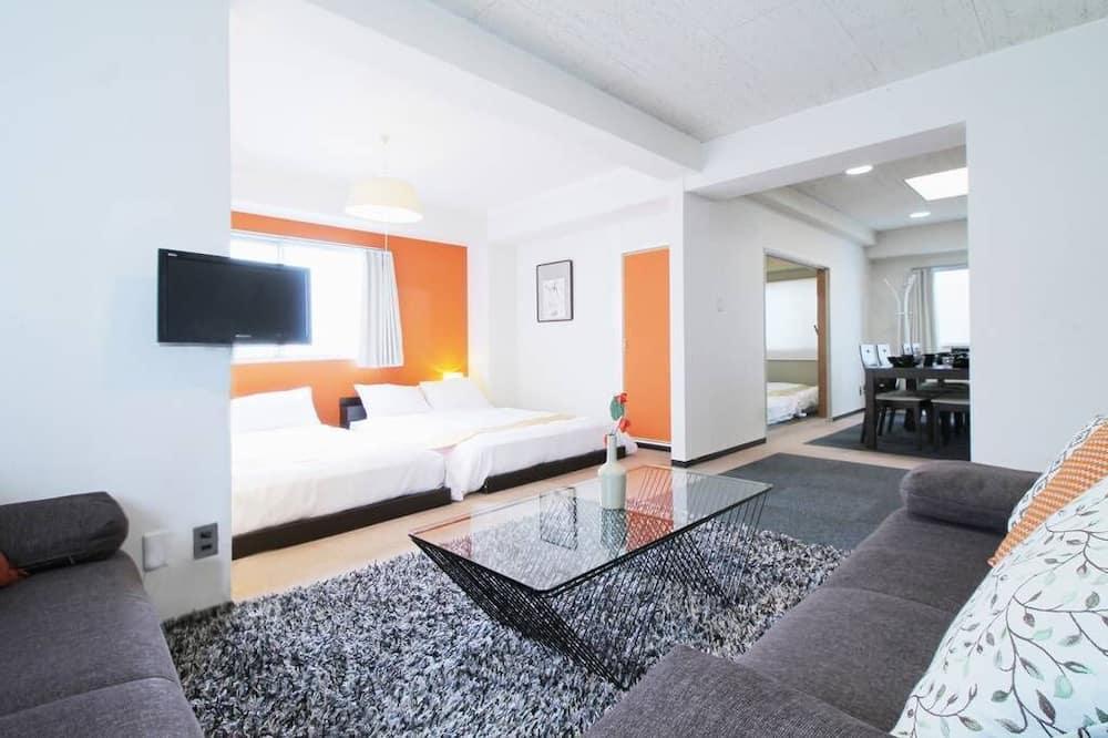 דירה, 3 חדרי שינה (401) - חדר