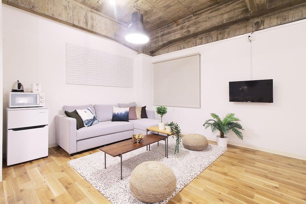 דירה, חדר שינה אחד (402) - אזור מגורים