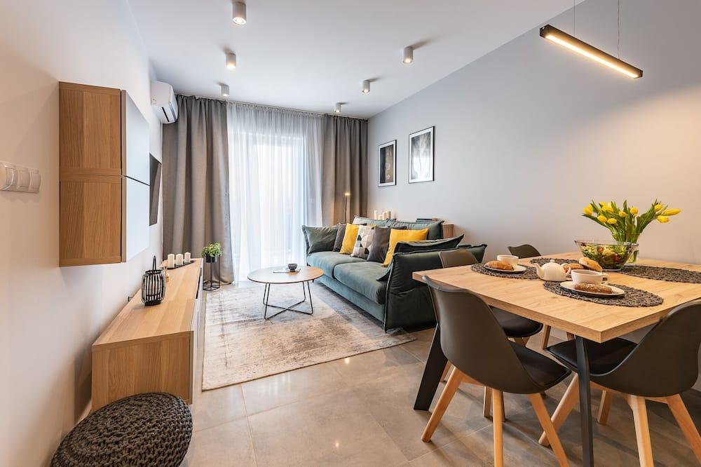 公寓, 1 間臥室 (No.  2 - ul. Francuska 108B/54) - 客廳