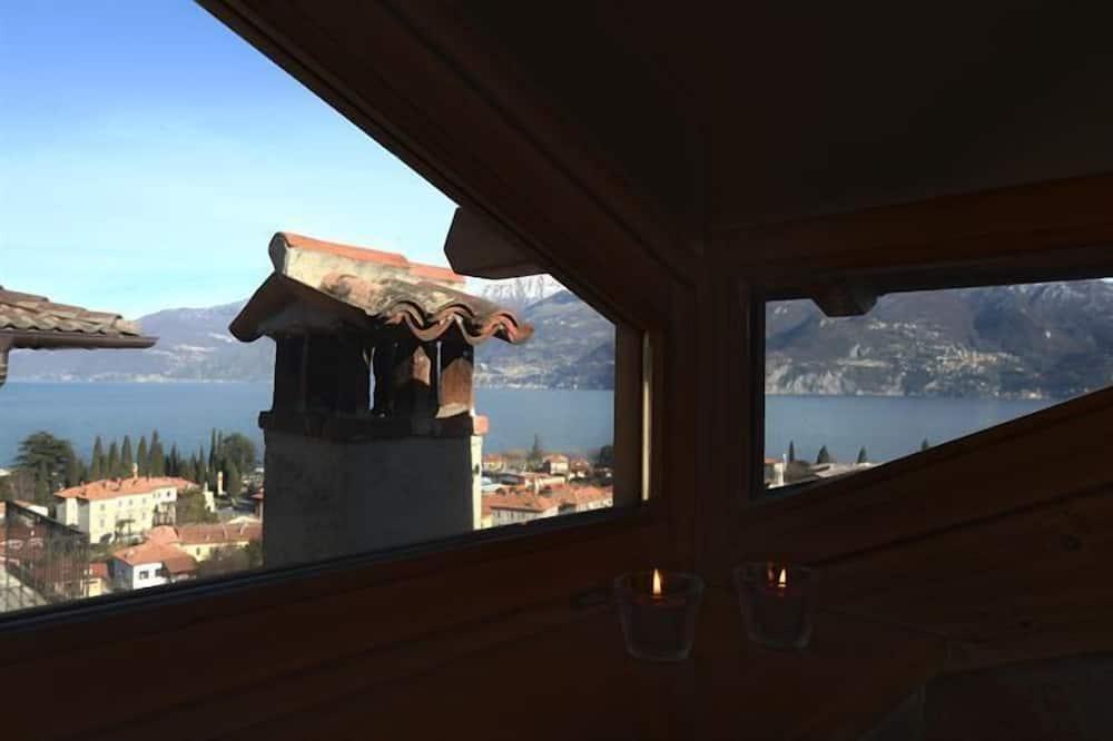 Family Apartment, Multiple Beds, 2 Bathrooms, Garden Area (Menaggio Castello Panoramica) - Balcony