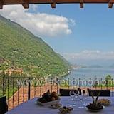 Familienapartment, Mehrere Betten, 2 Bäder, Bergseite (Residence Eden Gardenia 11) - Terrasse/Patio