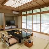 Традиционный номер (Japanese Family Style) - Зона гостиной