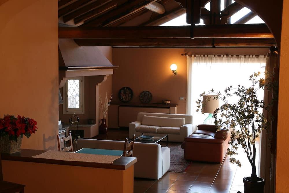 Villa - 5 soveværelser - bjergudsigt - Opholdsområde