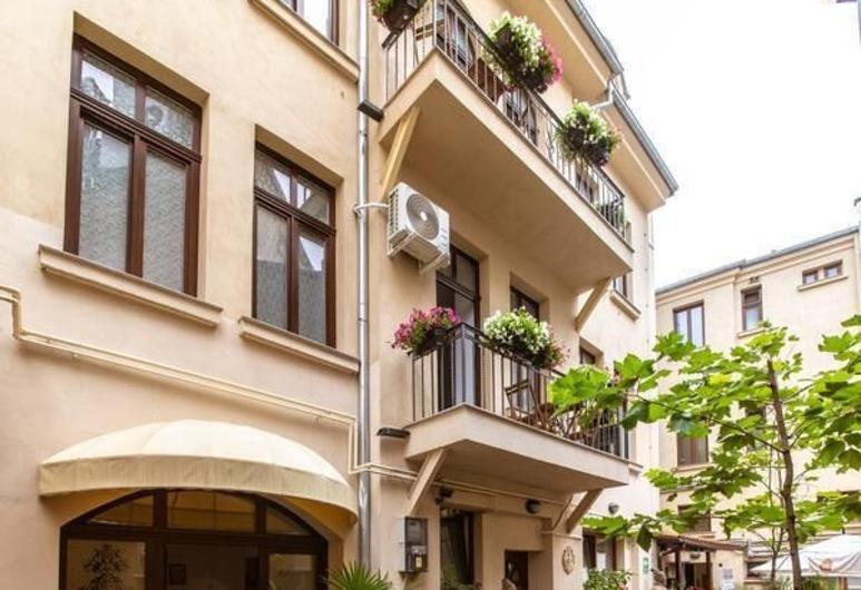 Kalman Residence, Bukareszt, Dziedziniec