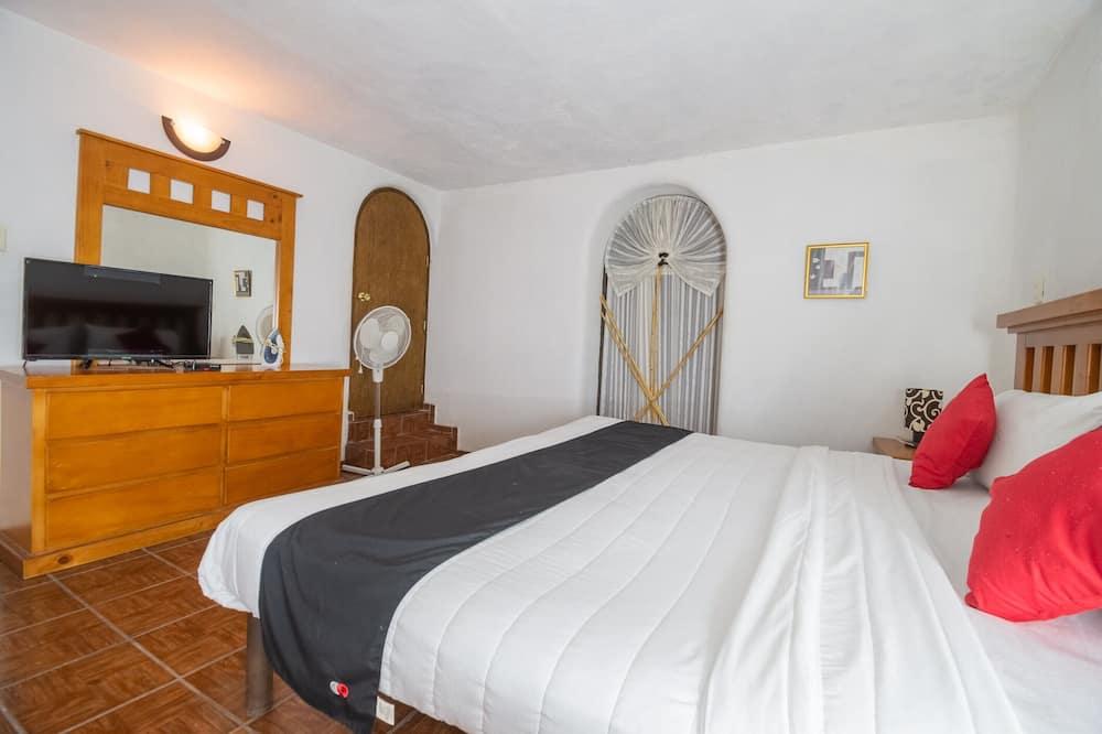 Apartmá s ložnicí a obývacím koutem, 2 ložnice - Pokoj