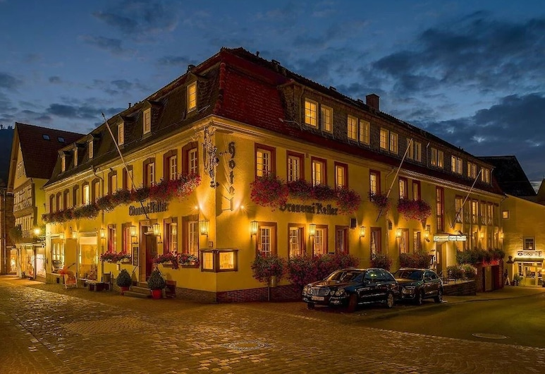 Hotel Brauerei Keller, Miltenberg, Hotel Front – Evening/Night