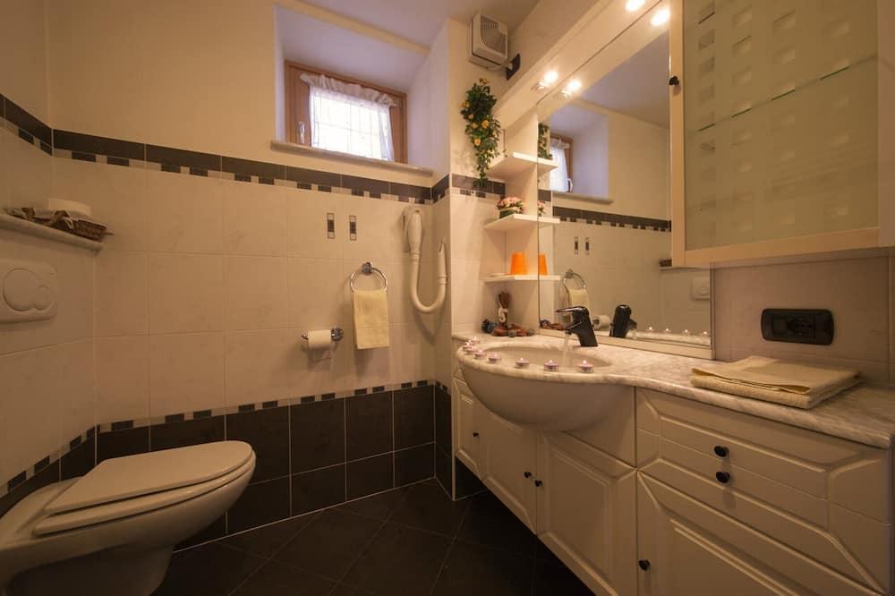 Apartamento Familiar, várias camas, Jardim (Italia 2) - Casa de banho