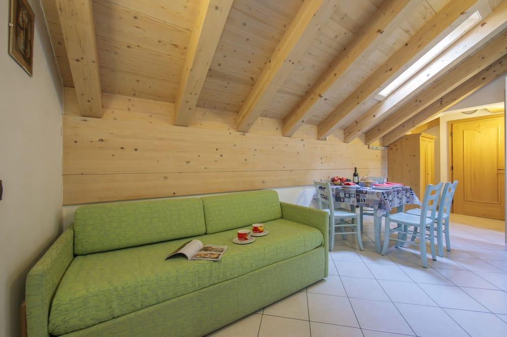 家庭公寓, 多張床 (Valtellina) - 客廳