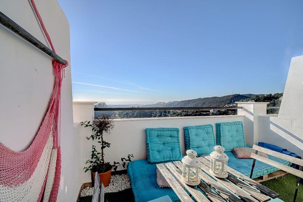 Penthouse, 1 Bedroom - Balcony
