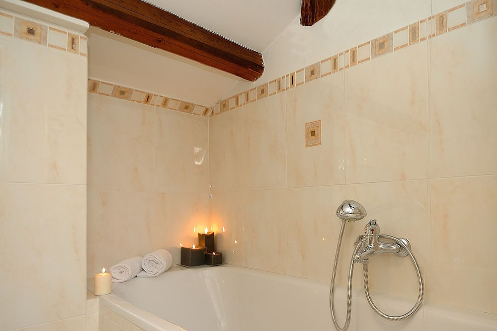 Comfort tvåbäddsrum - Badrum