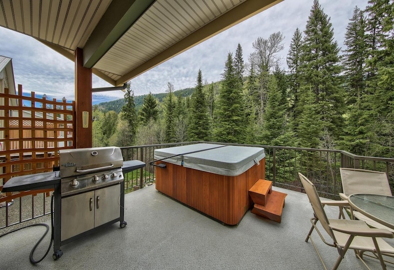 Pineview Lodge by Bear Country, Sun Peaks, Σπίτι, 4 Υπνοδωμάτια, Αίθριο/βεράντα
