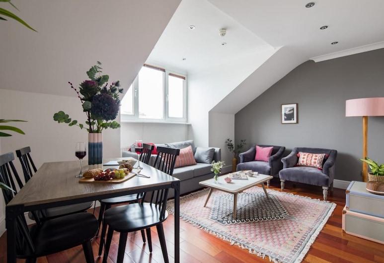 ザ クロムウェル ロード エスケープ - モダン セントラル 1 ベッドルーム フラット ウィズ ルーフトップ テラス, ロンドン