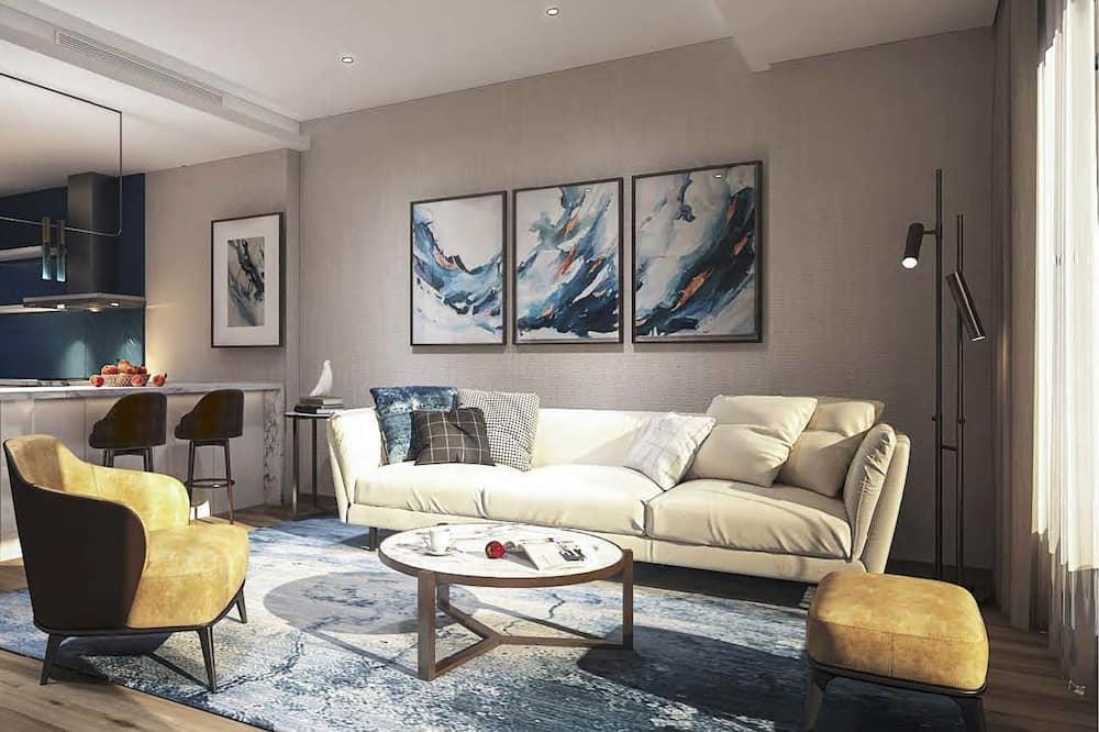 Apartament typu Suite, 2 sypialnie - Salon