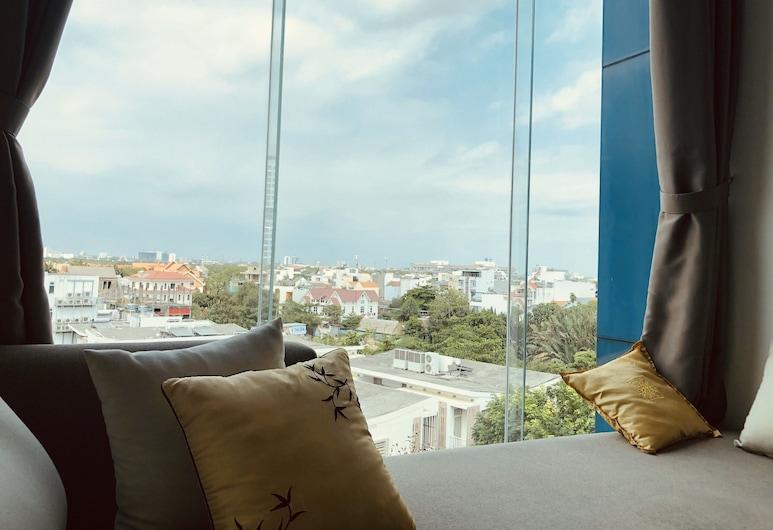 Glenwood Apartment, Ho Chi Minh City, Apartament, 2 sypialnie, widok na miasto, Widok zpokoju